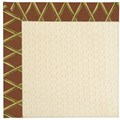 Capel Rugs Creative Concepts Sugar Mountain - Bamboo Cinnamon (856) Rectangle 7
