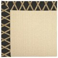 Capel Rugs Creative Concepts Beach Sisal - Bamboo Coal (356) Octagon 6
