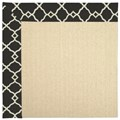 Capel Rugs Creative Concepts Beach Sisal - Arden Black (346) Octagon 10