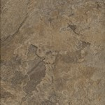 Signature Altiva Mesa Stone:  Chocolate Luxury Vinyl Tile D4109