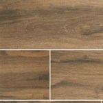 "MS International Ink Jet Wood Series: Botanica Cashew 6"" x 36"" Porcelain Tile NBOTCAS6X36"