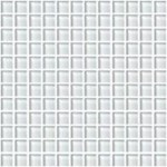 "Daltile Color Wave Glass Mosaic 1"" x 1"" : Feather White CW0211MS1P"