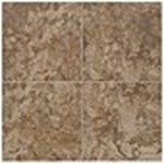 "Mohawk Pavin Stone: Brown Suede 12"" x 12"" Ceramic Tile 13781"