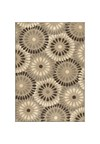 Shaw Living Kathy Ireland Home Essentials Imperial Bouquet (Natural) Rectangle 7'8