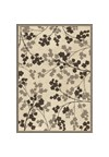 Shaw Living Kathy Ireland Home Essentials Imperial Bouquet (Natural) Rectangle 3'10