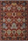 Shaw Living Antiquities Tabriz Trellis (Navy) Rectangle 5'5