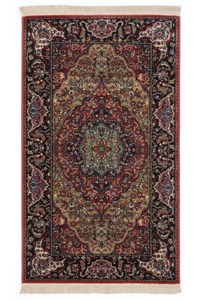 Nourison Collection Library Alexandria (AL04-RED) Runner 2'3
