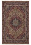 Nourison Collection Library Alexandria (AL04-RED) Round 5'6