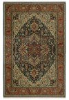 Nourison Collection Library Chambord (CM01-BRN) Rectangle 7'6