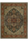 Nourison Collection Library Chambord (CM01-BRN) Rectangle 7'9