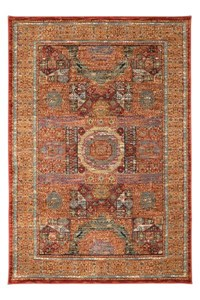 Nourison Collection Library Chambord (CM02-BUR) Runner 2'3