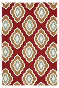 Nourison Signature Collection Heritage Hall (HE15-AQU) Runner 2'6