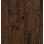 "Bruce Dundee Strip Oak: Mocha 3/4"" x 2 1/4"" Solid Oak Hardwood CB277"