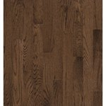 "Bruce Natural Reflections Oak: Walnut 5/16"" x 2 1/4"" Solid Oak Hardwood C5031"