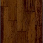 "Armstrong Century Farm Hickory: Chateau Brown 1/2"" x 5"" Engineered Hickory Hardwood GCH484CHLG"
