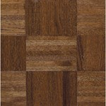 "Armstrong Urethane Parquet Oak: Windsor 5/16"" x 12"" Solid Oak Hardwood 111120"