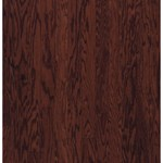 "Armstrong Beckford Plank: Cherry Spice 3/8"" x 5"" Engineered Oak Hardwood BP441CSLGY"