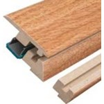 "Columbia Intuition with Uniclic: Incizo Trim Natural Walnut - 84"" Long"