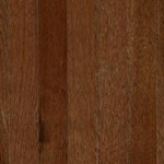 "Columbia Barton Hickory: Mocha Hickory 3/8"" x 3"" Engineered Hardwood BAH312F"