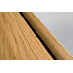 "Kahrs Original American Naturals Collection: Square Nose Reducer Jatoba Brasilia - 78"" Long"