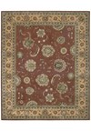 Capel Rugs Creative Concepts Cane Wicker - Fife Plum (470) Octagon 6' x 6' Area Rug