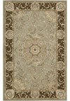 Capel Rugs Creative Concepts Cane Wicker - Couture King Chestnut (756) Octagon 6' x 6' Area Rug