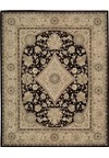 Capel Rugs Creative Concepts Cane Wicker - Cayo Vista Tea Leaf (210) Octagon 8' x 8' Area Rug