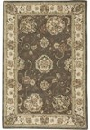 Capel Rugs Creative Concepts Cane Wicker - Coral Cascade Ebony (385) Octagon 8' x 8' Area Rug