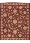 Capel Rugs Creative Concepts Cane Wicker - Coral Cascade Ebony (385) Octagon 12' x 12' Area Rug