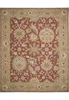 Capel Rugs Creative Concepts Cane Wicker - Canvas Jockey Red (527) Runner 2' 6