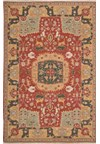 Capel Rugs Creative Concepts Cane Wicker - Java Journey Chestnut (750) Runner 2' 6