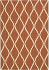 Capel Rugs Creative Concepts Cane Wicker - Cayo Vista Graphic (315) Rectangle 4' x 4' Area Rug
