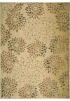 Capel Rugs Creative Concepts Cane Wicker - Dorsett Autumn (714) Rectangle 4' x 4' Area Rug