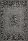 Capel Rugs Creative Concepts Cane Wicker - Bahamian Breeze Coal (325) Rectangle 6' x 6' Area Rug