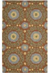 Capel Rugs Creative Concepts Cane Wicker - Canvas Royal Navy (467) Rectangle 6' x 6' Area Rug