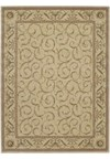 Capel Rugs Creative Concepts Cane Wicker - Couture King Chestnut (756) Rectangle 10' x 10' Area Rug