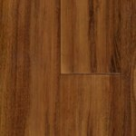 "Signature Exotic Print Bamboo:  Strand Woven Exotic Tigerwood 9/16"" x 3 3/4"" x 72"" Solid Bamboo"
