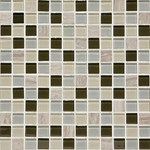 "Daltile Mosaic Traditions: Evening Sky 1"" x 1"" Glass Mosaic Tile BP97-11MS1P"