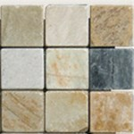 "MS International Golden White Quartzite 2x2 Mosaic 12"" x 12"" : SMOT-GWQ-2X2-T"