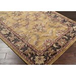 "Surya Ancient Treasures Raw Umber (A-101) Square 1'6"" x 1'6"""