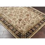 "Surya Ancient Treasures Jet Black (A-116) Rectangle 3'3"" x 5'3"""