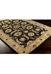 Surya Ancient Treasures Caviar (A-171) Square 1'6