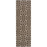 "Surya Smithsonian Archive Coffee Bean (ACH-1710) Rectangle 2'6"" x 8'0"""