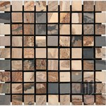 "MS International Autumn Slate Mosaic 12"" x 12"" : SMOT-AUT-1X1-T"