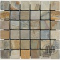 "MS International Autumn Slate Mosaic 12"" x 12"" : SMOT-AUT-2X2-T"