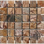 "MS International Cafe Forest Marble Mosaic 12"" x 12"" : SMOT-CAF-2X2-T"