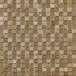 "Emser Lucente Stone and Glass Blends Mosaic 12"" x 12"" : Regale"