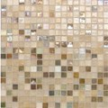 "Daltile City Lights Glass Mosaic 12"" x 12"" : Paris CL671212PM1P"