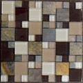 "Glass Tile & Stone Magnificent Modular Series Mosaic 12"" x 12"" : AL1608"