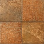 "Mannington Serengeti Slate: Safari Sunset 18"" x 18"" Porcelain Tile SS1T18"